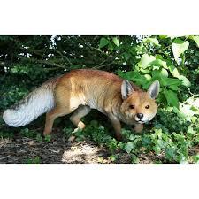 farnley park prowling fox garden sculpture wildlife farm