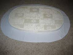 fitted bassinet sheet tutorial for an oval pad sewing machine