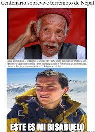 Bear Grylls Memes - cuánto cabrón bear grylls se siente orgulloso de su bisabuelo nepalés