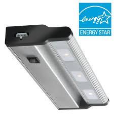 led concepts bar strip lights under cabinet lights the led brushed nickel under cabinet light