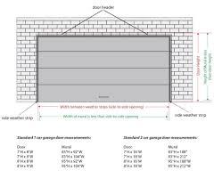 2 car garage door dimensions 2 car garage door sizes standard wageuzi 10 x 7 with windows 8 16