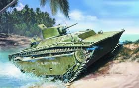 wallpaper ww2 lvt 4 alligator painting landing vehicle tracked