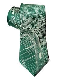 New Orleans Map by New Orleans Map Necktie By Cyberoptix