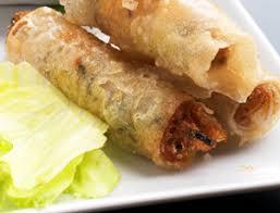 cuisine chinoise nems recette de nems au poulet ou rouleaux de printemps
