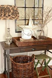 Round Foyer Table by Furniture Dark Wood Foyer Tables With Table Lamp Plus Round
