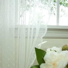 amazon com best home fashion jacquard sheer lace lovely dot