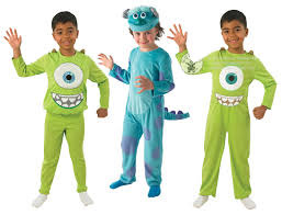 monsters inc halloween costumes for babies monsters inc boys fancy dress halloween movie kids childrens