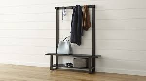 Entry Storage Bench With Coat Rack Entryway Storage Bench With Coat Rack Plans Best Entryway