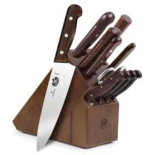 victorinox rosewood knife block set 12 piece cutlery and more