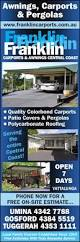 Central Coast Awnings Franklin Carports U0026 Awnings Awnings Yattalunga