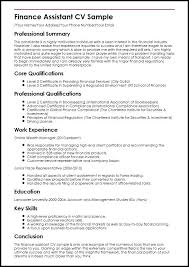 Resumes For Mba Finance Freshers Sample Of Finance Resume Sample Resume For Freshers Mba Finance