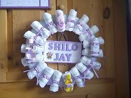 baby shower wreath baby shower wreath