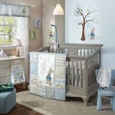 rabbit nursery lambs rabbit 6 baby nursery crib bedding set w