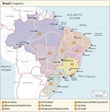 Rio On Map Brazilian Highlands On Map Rg B Format Throughout 1098 X 1118