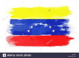 Venezuela Flag Colors The Venezuelan Flag Stock Photo Royalty Free Image 95191846 Alamy