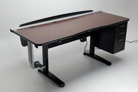 L Shaped Adjustable Height Desk Best 25 Adjustable Height Desk Ideas On Pinterest Intended For