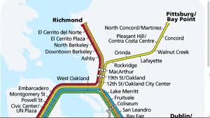 Sf Bart Map Bart Service Restored In East Bay After Fatality On Tracks