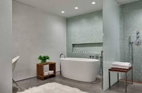 simple stylish bathroom interior whiteness theme by ohlhausen