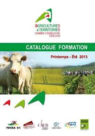 formation chambre d agriculture calaméo catalogue des formations 2013 chambre d agriculture de