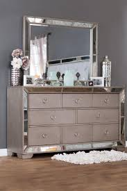 Hayworth Mirrored Chest Silver by Silver Mirror Dresser Bestdressers 2017