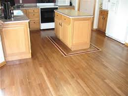 white oak kitchen floor stained provincial island has a border