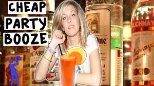 how to find cheap booze for a college party tipsy bartender