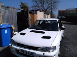 subaru hatchback white white subaru impreza classic gl 1 8 non turbo in lowestoft