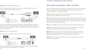 rca home theater system manual au05 bluetooth audio transmitter u0026 receiver user manual auris inc