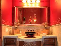 Rustic Bathroom Decor Ideas by Red Bathroom Light Bathroom Decor