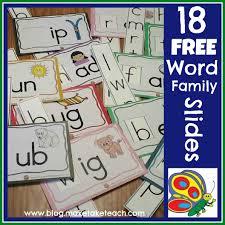 N Cvc Words by Diy Word Family Sliders Make Take U0026 Teach