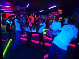 blacklight bedroom 18 hole indoor blacklight mini golf game room arcade