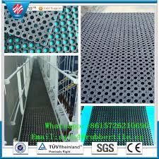 safety rubber boat deck mat drainage rubber mat buy rubber mat