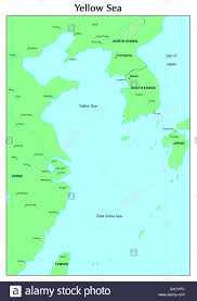 East China Sea Map Yellow Sea Map Map Of Gulf Shores Local Traffic Map