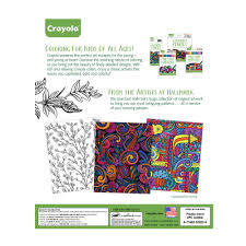 amazon crayola patterned escapes coloring book toys u0026 games