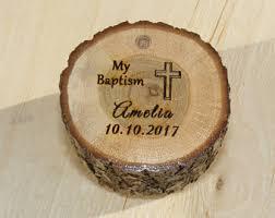 baptism engraving baptism cross etsy