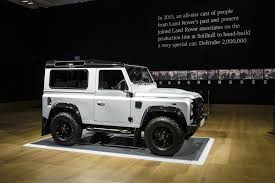 land rover defender 2015 4 door would you pay 400 000 for a land rover defender by car magazine