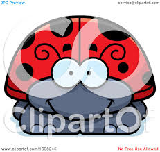 clipart happy ladybug royalty free vector illustration by cory