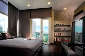 bedroom minimalist bachelor bedroom with grey minimalist low
