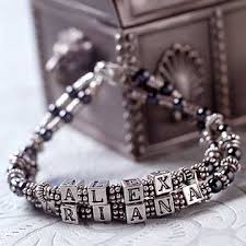 beaded bracelet name images Jewelry projects jpg
