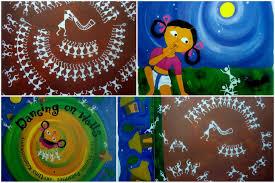 Warli Art Simple Designs Teaching Warli Drawing Step By Step Images Artsy Craftsy Mom