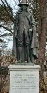 thanksgiving pilgrim statues file williambradfordstatue jpg wikimedia commons