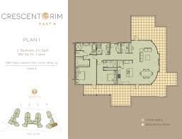 Outdoor Living Space Plans by Crescent Rim East Plan I Crescent Rim