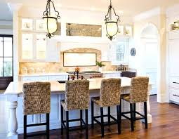 Kitchen Island With Chairs Comfortable Stools For Kitchen Island Altmine Co