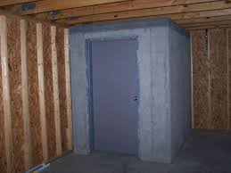 safe room in basement home design popular photo with safe room in