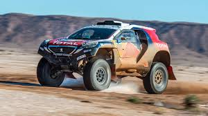peugeot dakar 2016 behind the scenes with peugeot u0027s dakar monster