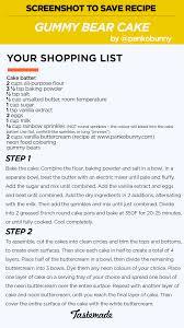 gummy bear cake recipe tastemade
