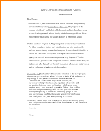 best solutions of principal introduction letter for example