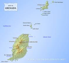 grenada location on world map where is grenada located on the world map