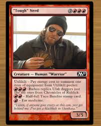 7 magic cards based on who play magic dorkly post