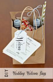 welcome wedding bags wedding welcome bag